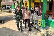Polres Serang Ikut Sukseskan Serbuan Vaksinasi oleh KOOPSAU I dan Lanud Halim Perdana Kusuma di Cikande