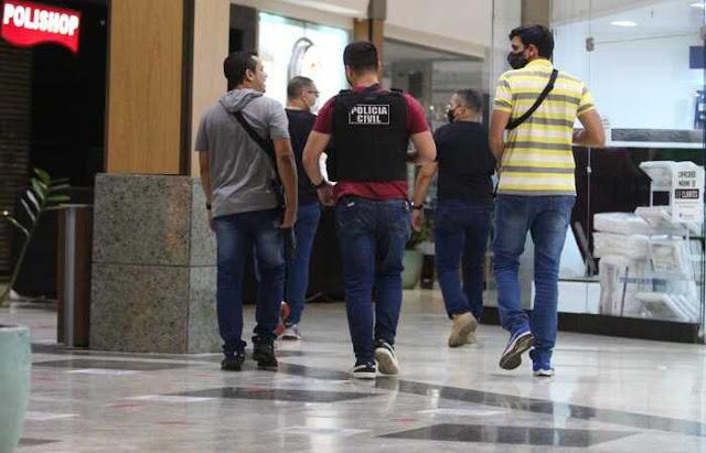Homem suspeito de participar de tiroteio no Shopping Tacaruna é preso em João Pessoa, na Paraíba