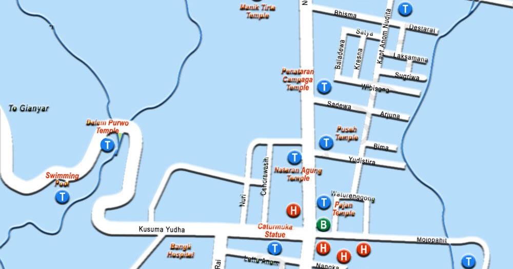 peta wisata bali 2017 pdf