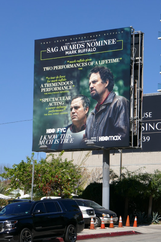 I Know This Much Is True SAG nominee billboard