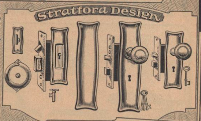 catalog image of Sears Stratford hardware