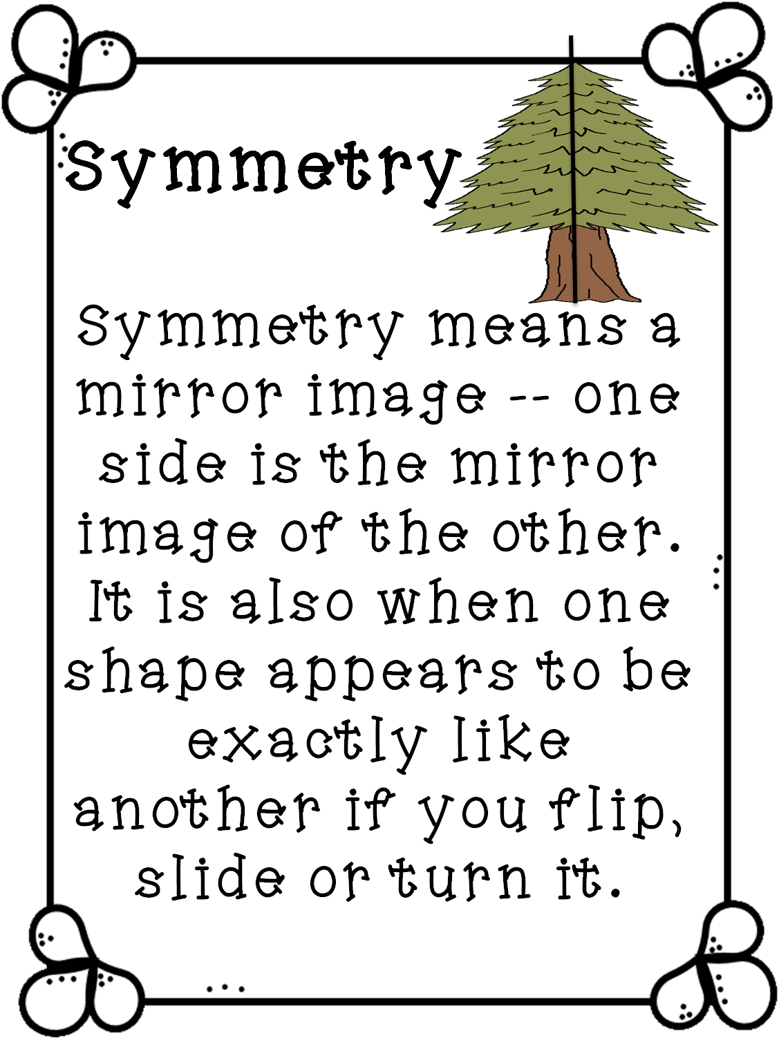 First Grade Wow Serious Symme Tree
