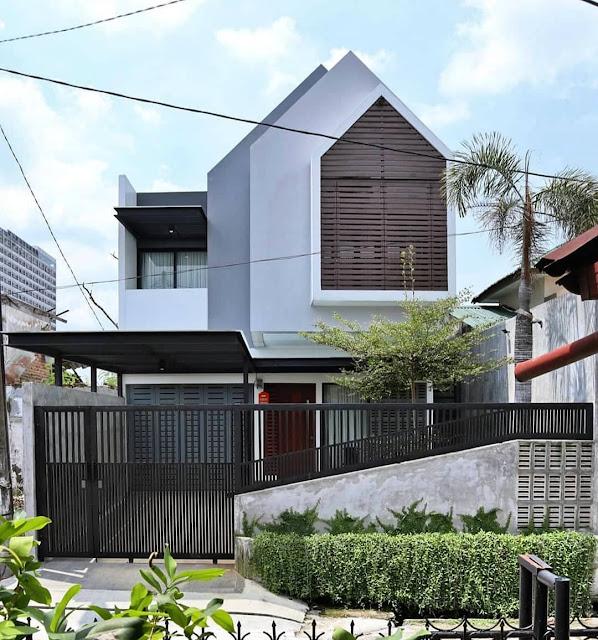 Rumah Minimalis 2 Lantai Sederhana Tampak Elegan