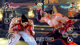 لعبة Tekken 6 للاندرويد على محاكي ppsspp بحجم صغير جدا