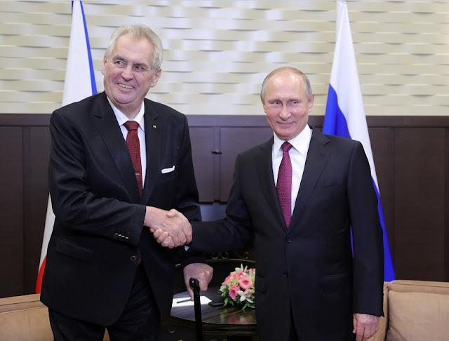 Putin ha perso nella Repubblica Ceca, 18 diplomatici espulsi, rifiutato l'accordo nucleare da miliardi di euro