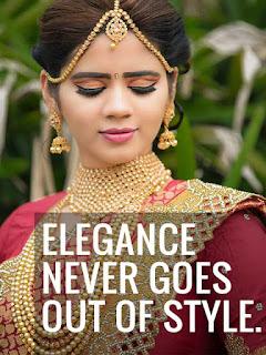 saree love caption for instagram