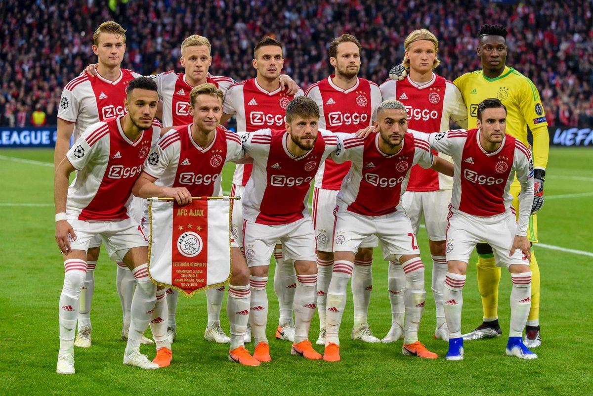 Daftar Skuad Nama Nama Pemain Ajax Musim 2019 2020