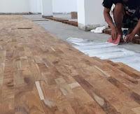 parquet kayu