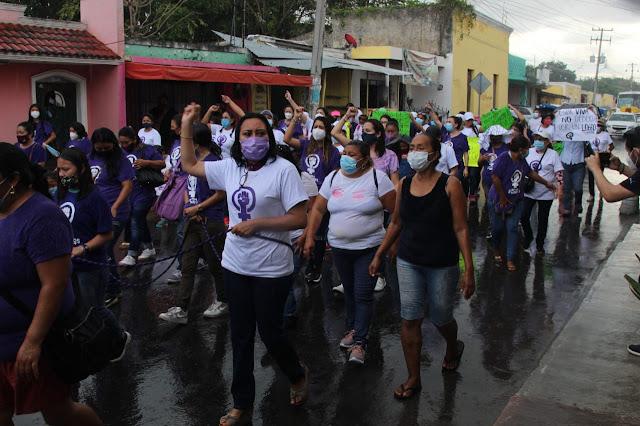 Más de mil casos de violencia de género, familiar y doméstica en Kanasín: mujeres. Antonio Sánchez