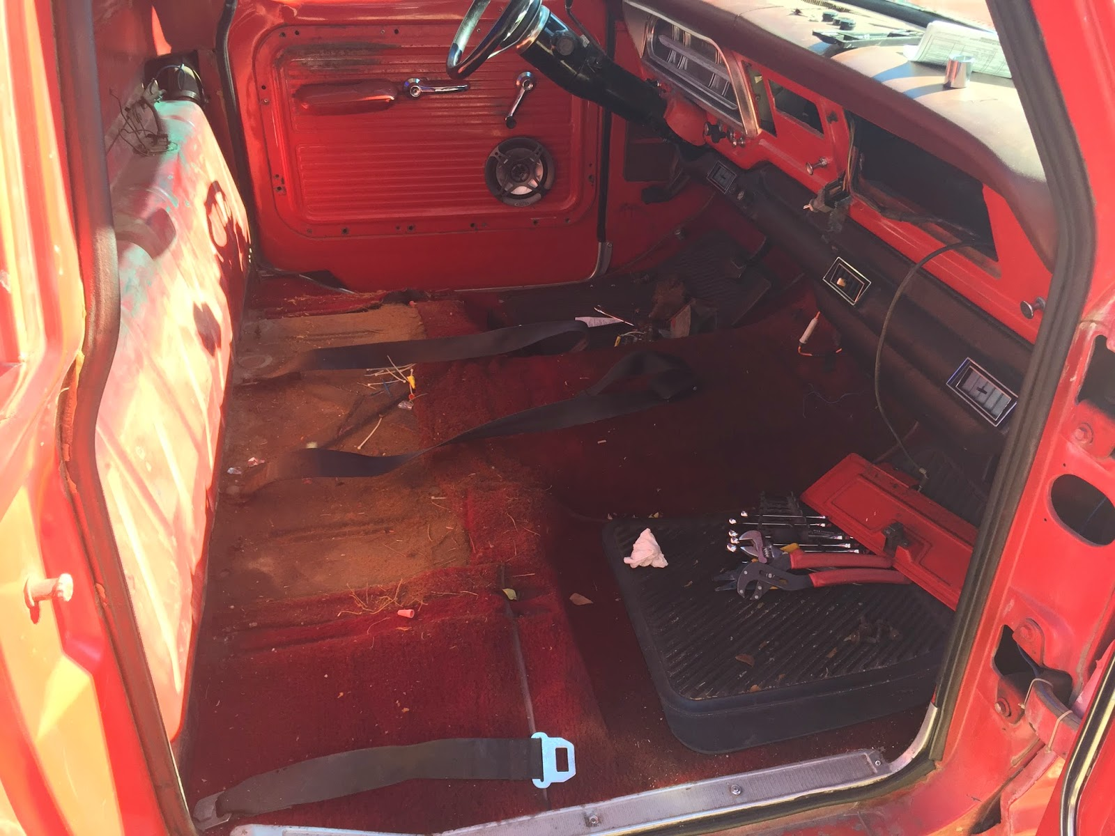 Awe Inspiring 1967 F100 Fixing The Seat Evergreenethics Interior Chair Design Evergreenethicsorg