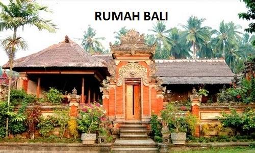 Rumah Adat Natah Asal Daerah Provinsi Bali