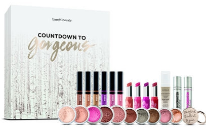 Bare Minerals beauty Advent calendar 2016 calendrier de l'avent Adventskalender