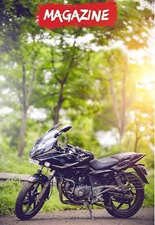 Magazine Bike CB Background Free Stock Image