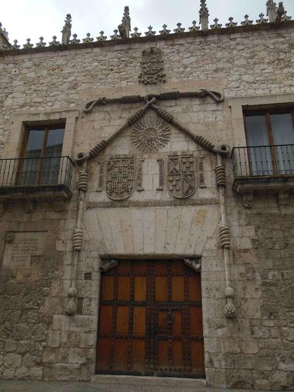 Burgos, Camino, Jola Stepien, Pałac Konstabli