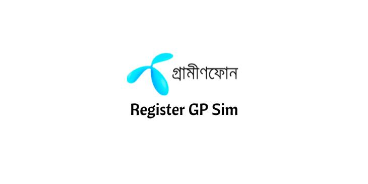 How to register gp sim