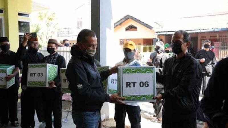 Walikota Cimahi Apresiasi Warganya Yang Buat Program Sejuta Masker Kain Secara Swadaya