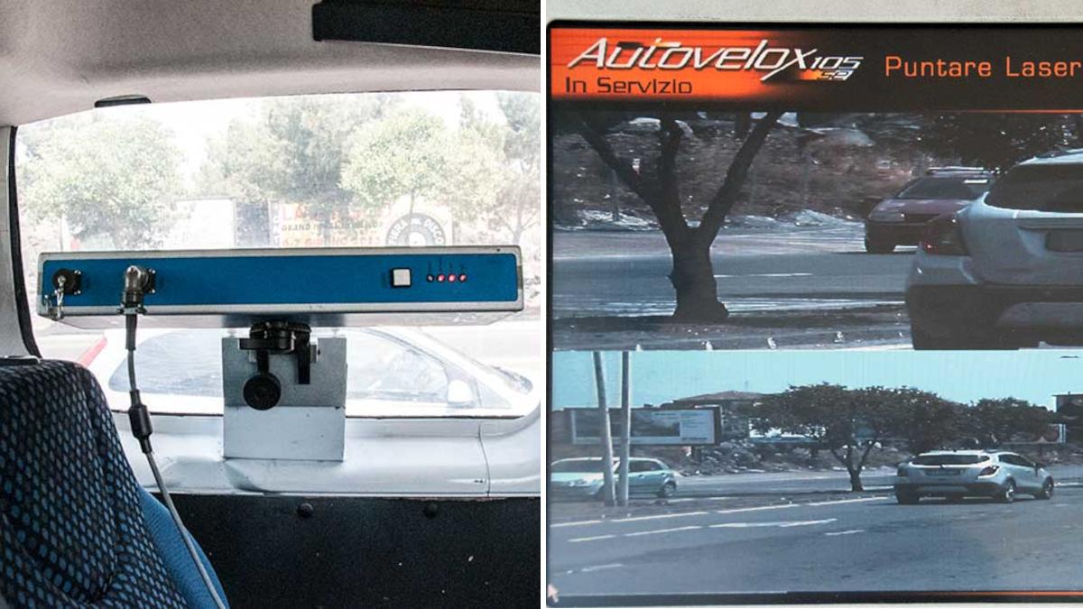 Polizia Municipale autovelox fisis mobili maggio