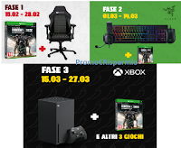 "Concorso ""Pop & Play "" : vinci gratis Kit Xbox Gamer, Kit accessori PC e Gaming Chair"