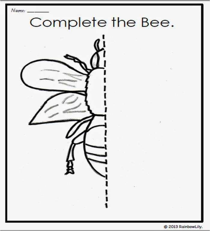 http://www.teacherspayteachers.com/Product/Symmetry-in-Insects_-Drawing-worksheets-to-practise-symmetry-874235
