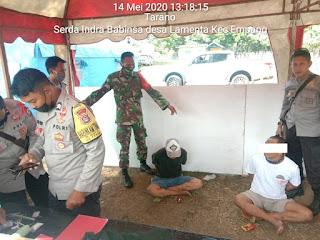 Gabungan Tim Gugus Tugas Covid-19 Kabupaten Sumbawa Terduga Pengedar Sabu