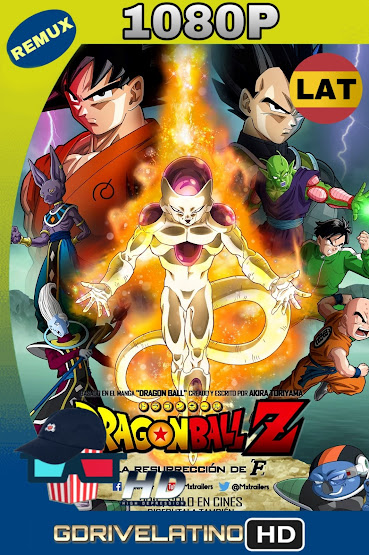 Dragon Ball Z La Resurrección de Freezer (2015) BDRemux 1080p Latino-Ingles MKV