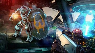 pada kesempatan kali ini admin akan membagikan sebuah game mod apk terbaru yang bergenre  Shadowgun Legends v0.5.3 Mod Apk (Enemies in PVE Will not Attack)
