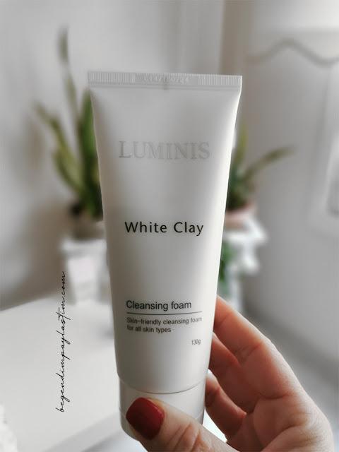 Luminis White Clay Cilt Temizleme Köpüğü