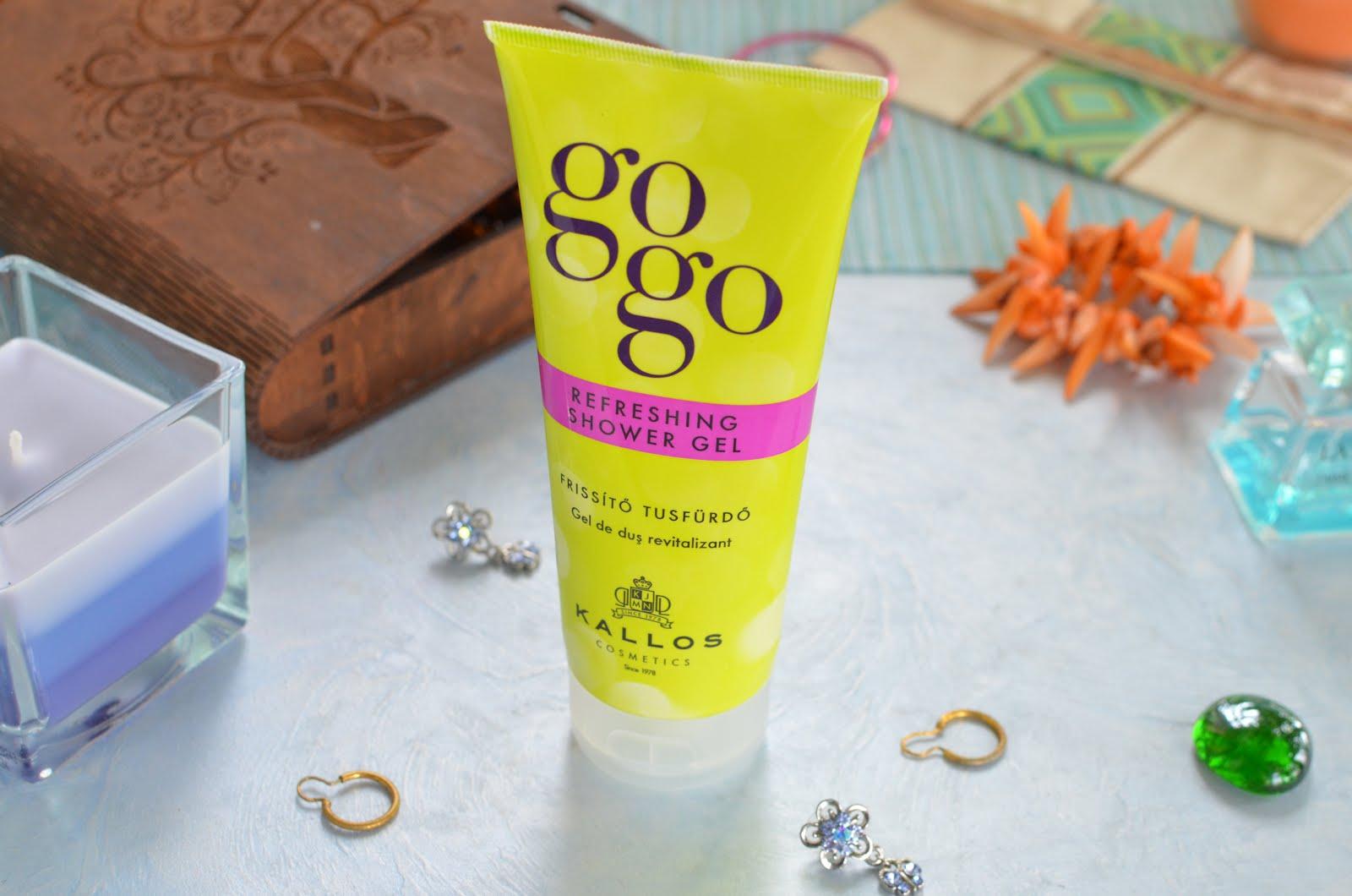 Kallos Cosmetics Gogo Refreshing Shower Gel Освежающий гель для душа