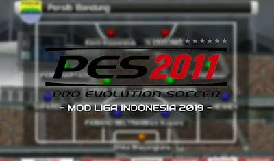 PES 2011 MOD PES 2020 Apk Spesial Liga Indonesia Putaran Kedua For Android