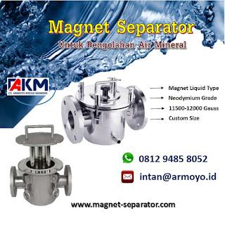 Magnet separator Liquid 11000-12000 gauss