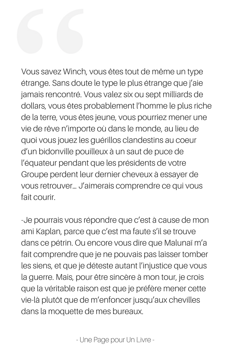 extrait Largo Winch