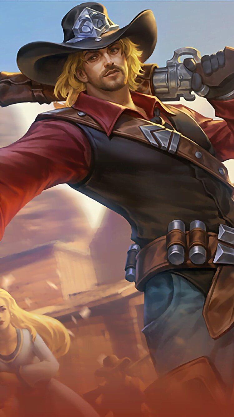 Wallpaper Clint Wild Wanderer Skin Mobile Legends HD for Mobile