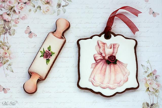 Love for Baking Cookie set {Foto tutorial}