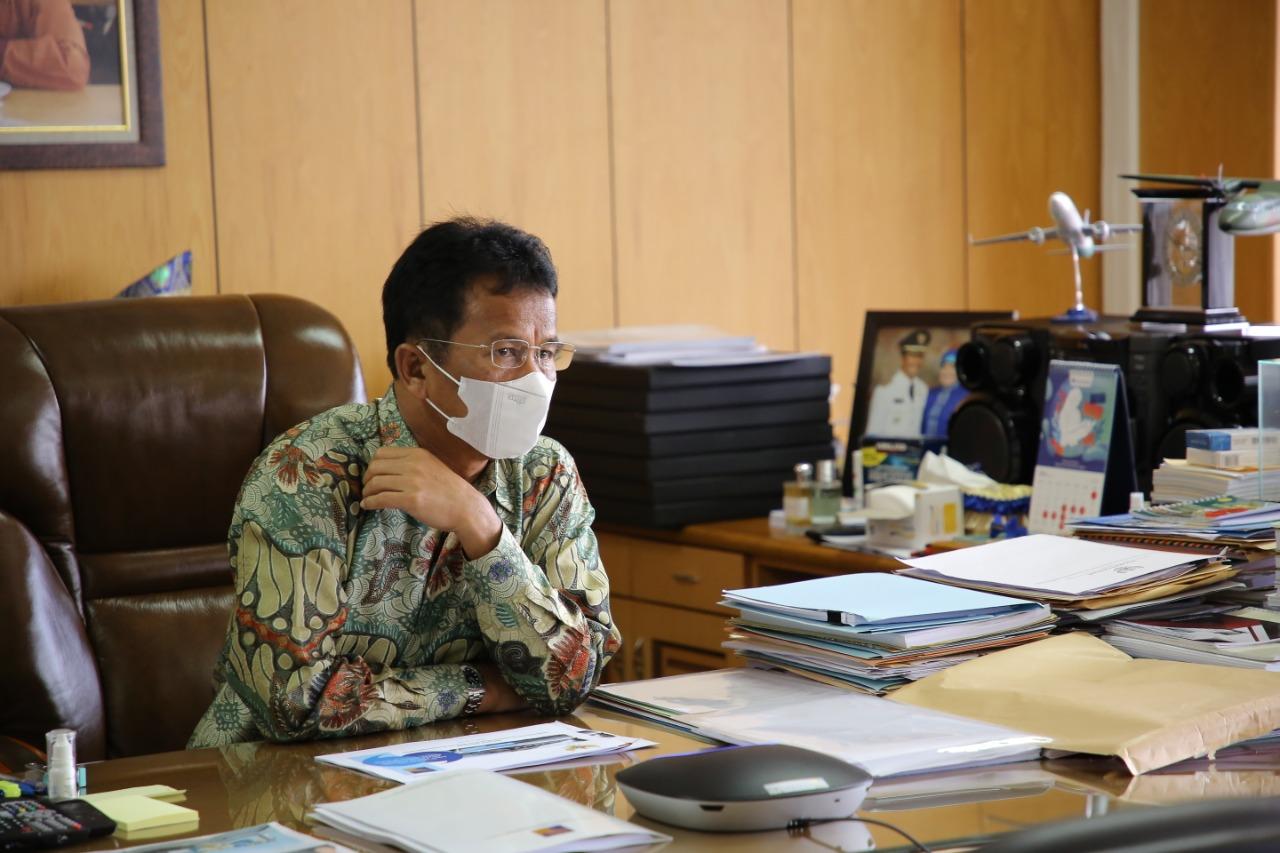Kepala BP Batam Menghadiri RDP bersama Komisi VI DPR RI Secara Virtual