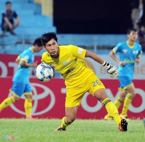 Anh được gọi vào đội tuyển U23 VN tham dự SEA Games 26 tại Indonesia