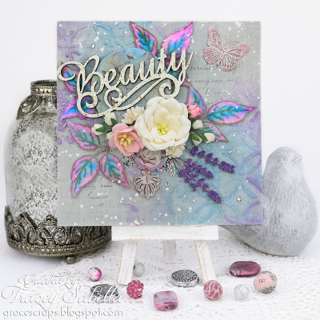 Mother's Day card by Tracey Sabella for Scrap & Craft: https://bit.ly/2Fxljl7 #studio75 #mothersdaycard #mothersday #mothersdayhandmade #mothersdayart #flowercard #handmadecard #chipboard #watercolor #mixedmedia #mixedmediacard #shabbychic #shabbychiccard #papercrafting #finnabair #primamarketing #lindysstampgang #wildorchidcrafts  #artanthology #usartquestprills #bluefernstudios #helmar