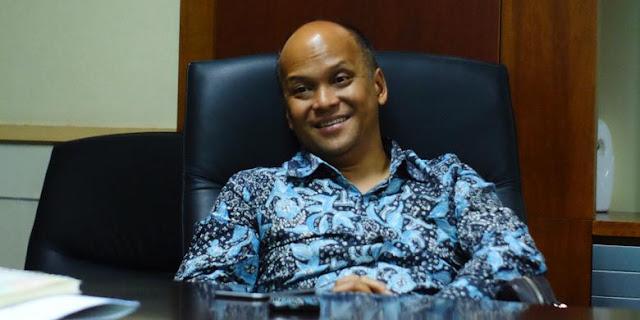 Ketua Pelaksana Harian Detiknas, Ilham Akbar Habibie