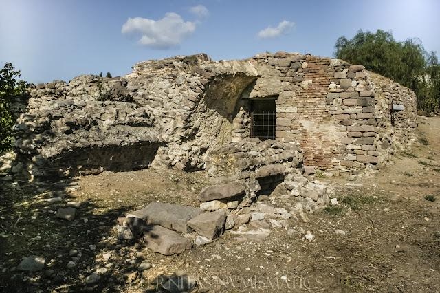 Ruinas del un conjunto termal tardorromano o bizantino temprano.
