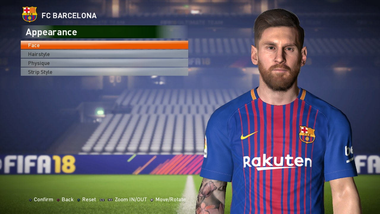 Pes Modif Pes 2017 Messi Face Update Fix By Ahmed Tattoo
