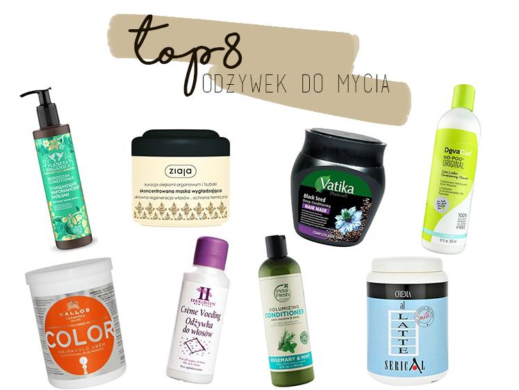 Top 8 odżywek do mycia włosów bez silikonów i złych alkoholi, odżywki do mycia włosów kręconych