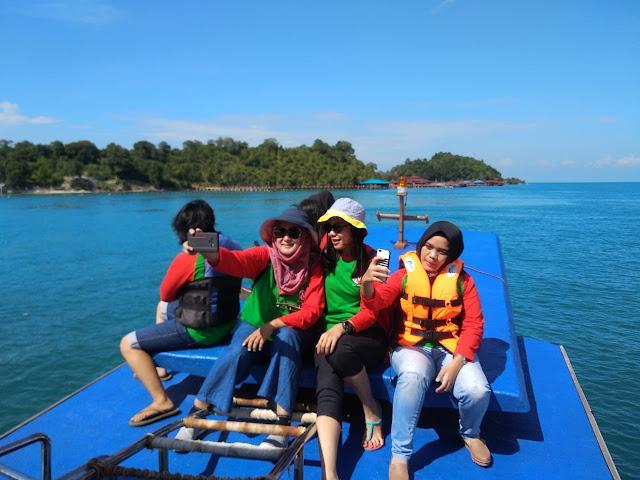Menuju Pulau Labun Barelang Batam