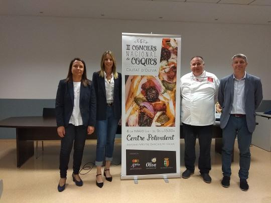II Concurs Nacional de Coques Ciutat d'Oliva