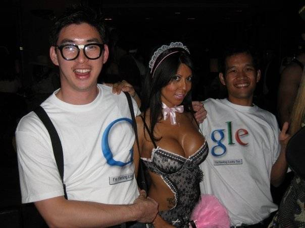 Google Boobs Costume
