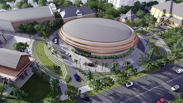 gedung baru taman budaya kalbar