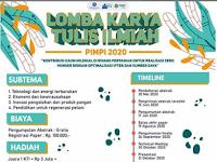 Lomba Karya Tulis Ilmiah Nasional PIMPI 2020 di IPB