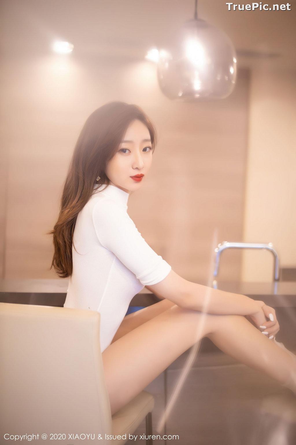 Image XiaoYu Vol.389 - Chinese Model - 安琪 Yee - Beautiful In White - TruePic.net - Picture-3