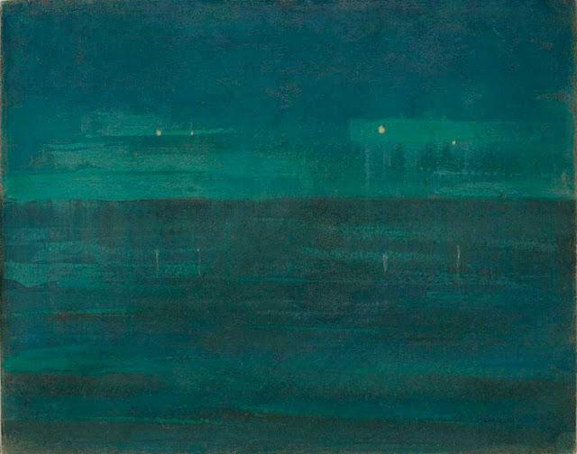 Чюрлёнис Микалоюс Константинас - Море ночью. 1906