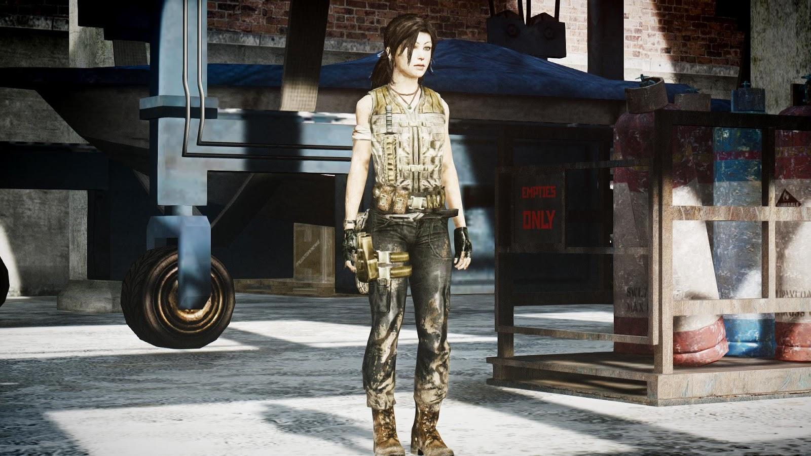 GTA 5,GTAV,GTA IV Mods and Skins: GTA 4 MOD:Tomb Raider 2013