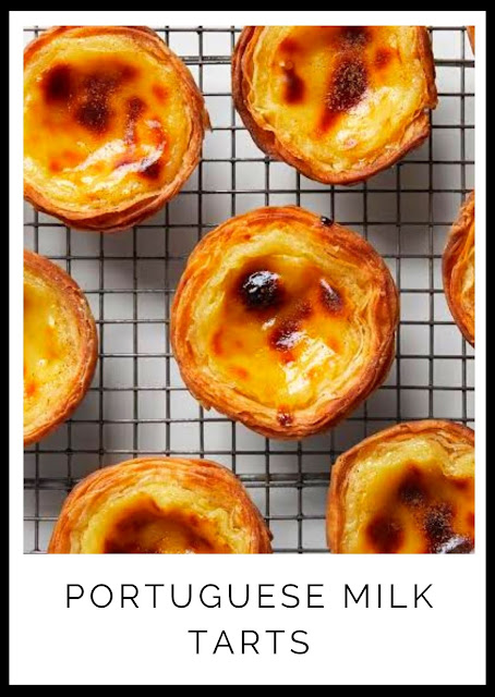 PORTUGUESE MILK TARTS