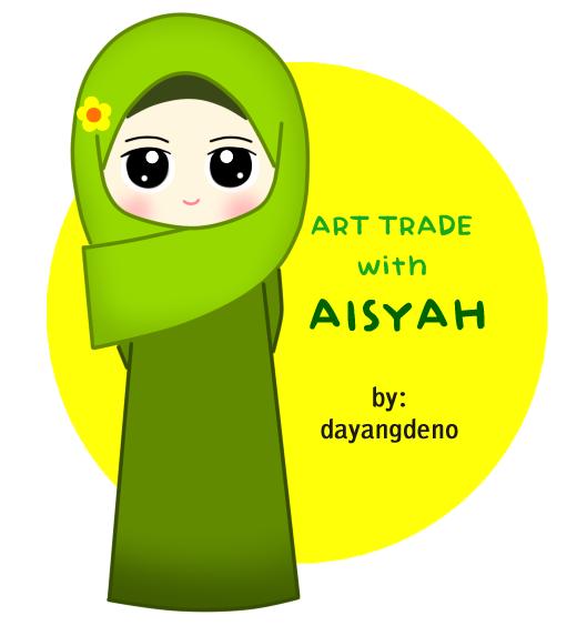 Art Trade With Adik Aisyah